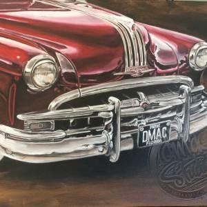 49 Pontiac Oil painting on Canvas Papamoa Mt Maunganui Tauranga Bay of Plenty New Zealand