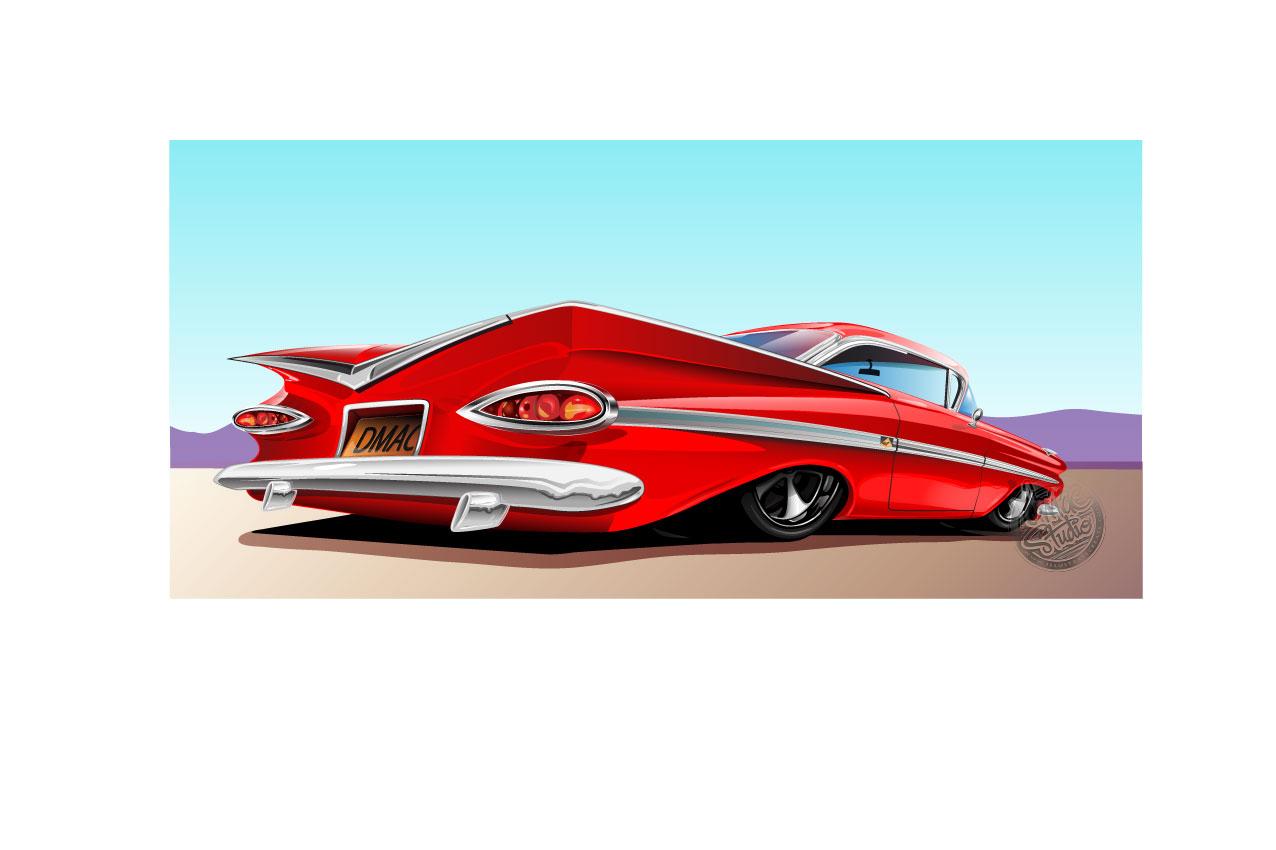 red impala 59