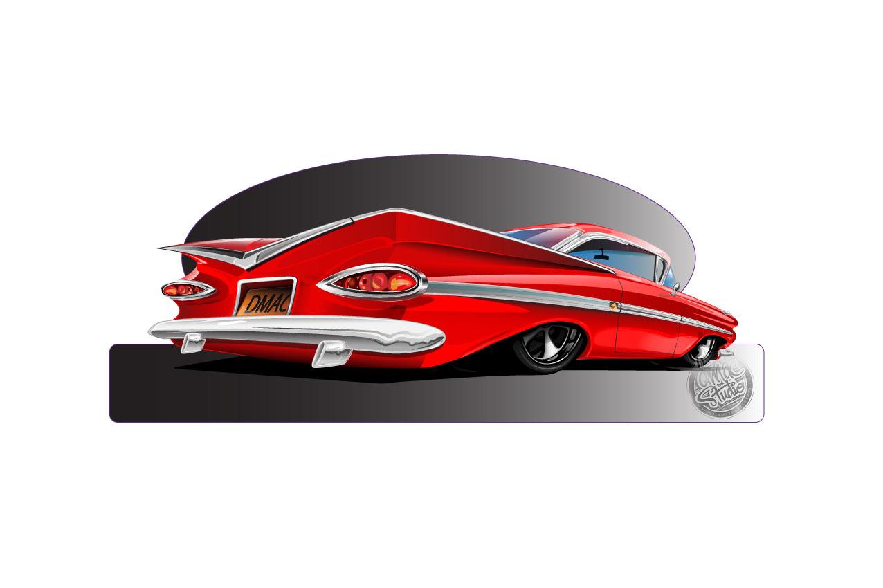 59 impala red