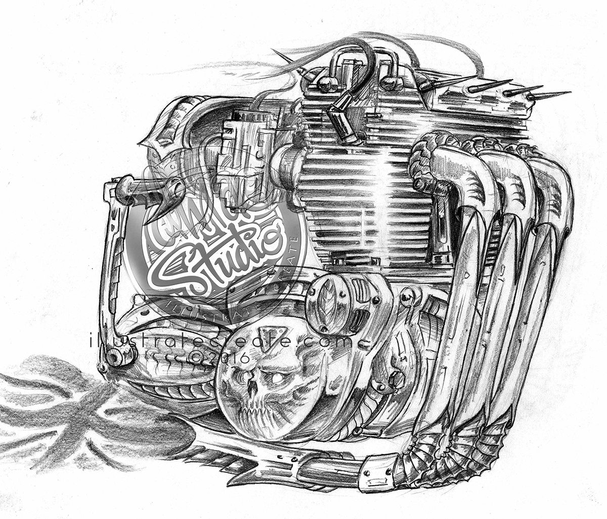triumph trident engine