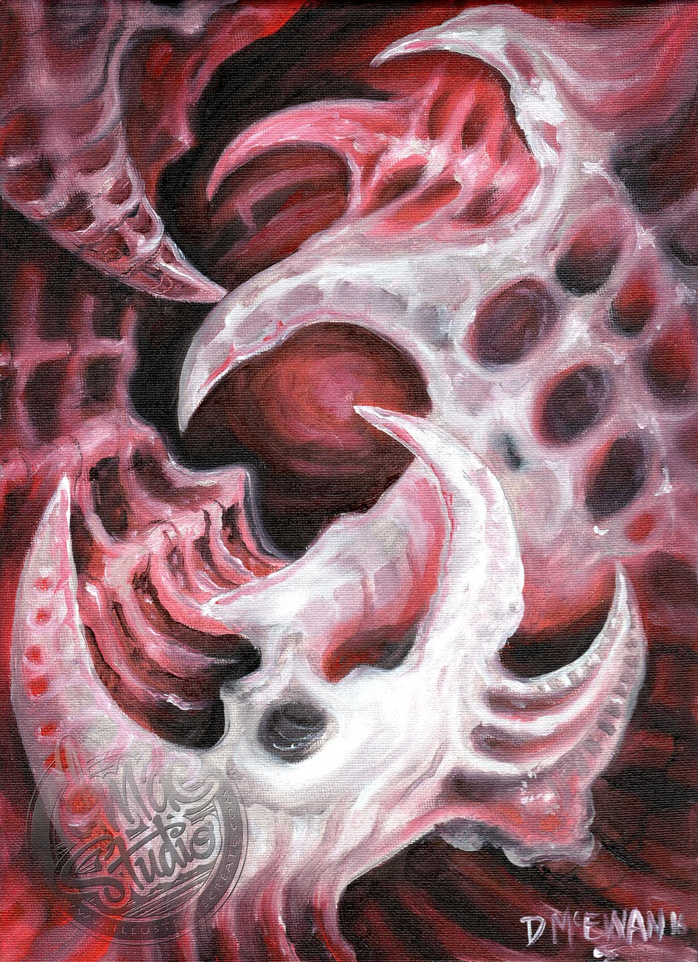 Bio Mechanical Painting