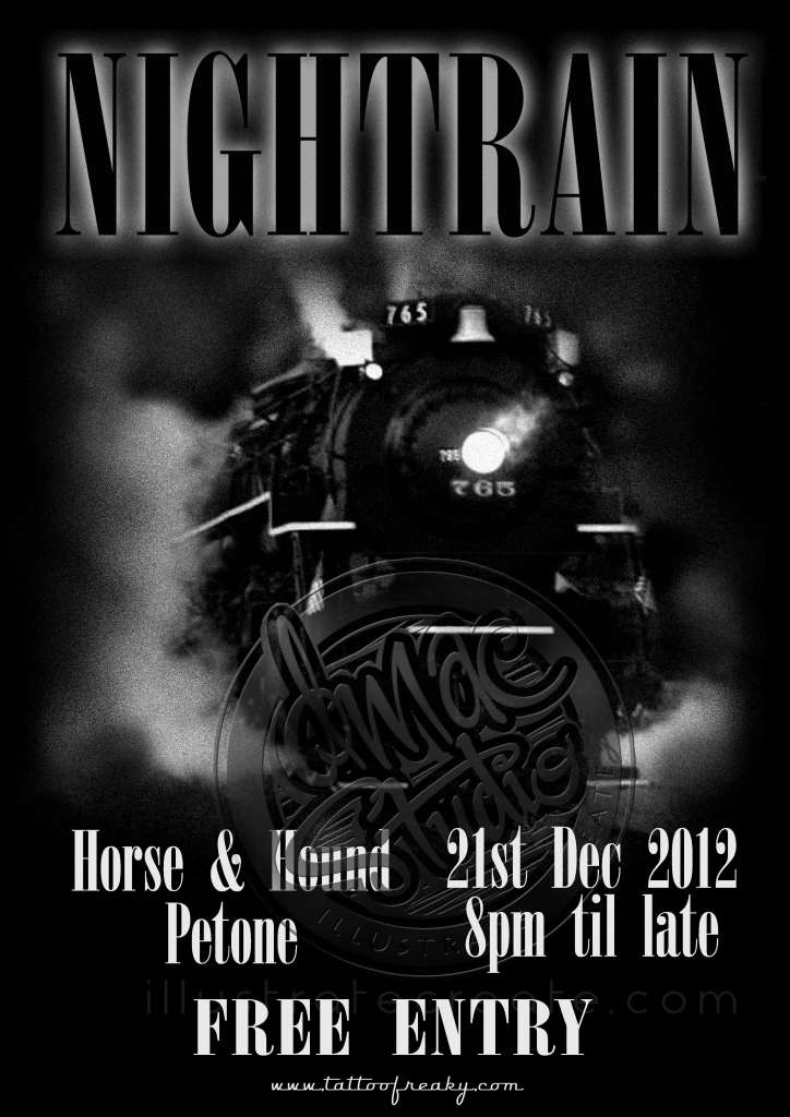poster design Nightrain