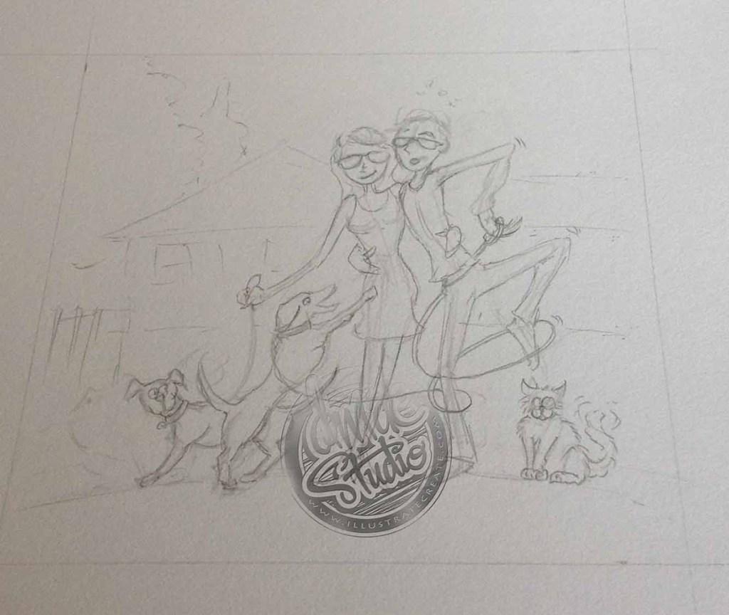 storyboard art Tauranga
