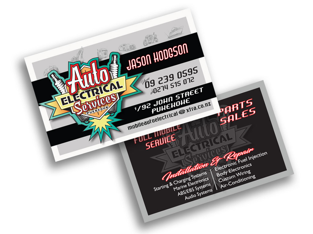 Business Card Graphice Design Small business NZ New Zealand