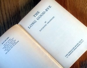 Title page for The Long Good-by