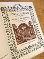 Twelfth Night, Eric Ravilious, Golden Cockerel Press