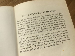Steinbeck, The Pastures of Heaven