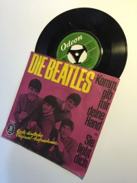 The Beatles a rare 7 inch single sung in German