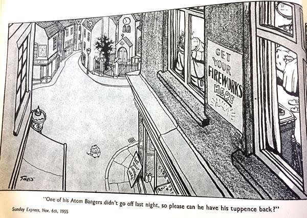 The cartoonist Giles