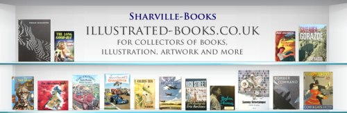 Sharville Books for collectors of illustrated books, illustration, artwork and more.