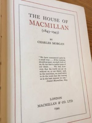The House of Macmillan, publishers