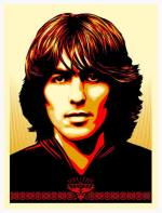 'Poster For George' Shepard Fairey