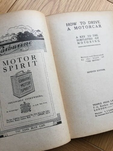 How to Drive a Motor Car