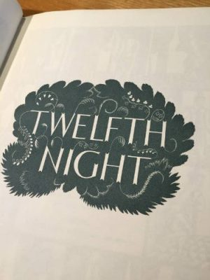Twelfth Night, Eric Ravilious