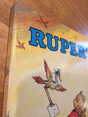 1972 Rupert Annual, showing book is in good condition
