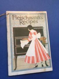 Fleischmann's Recipes, American recipes, 1916