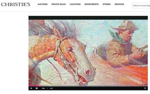 Christie's American Illustrators, auction 2020