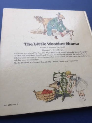 The Little Weather House, illustrated by David Knight