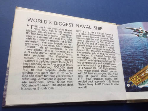 Inside Information on Naval Ships, illustrated by L Ashwell Wood