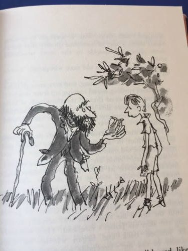 James and the Giant Peach, Roald Dahl