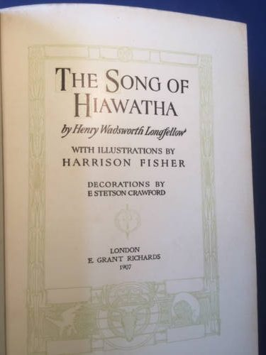 Hiawatha, Henry Wadsworth Longfellow