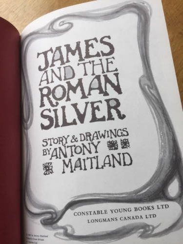 James and the Roman Silver, Anthony Maitland