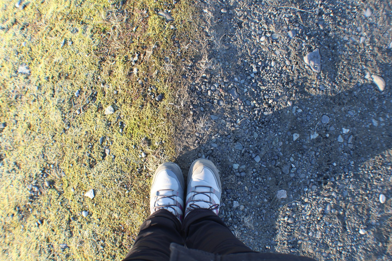 Illustrated by Sade - Photo of ground at Jokulsalron, Iceland