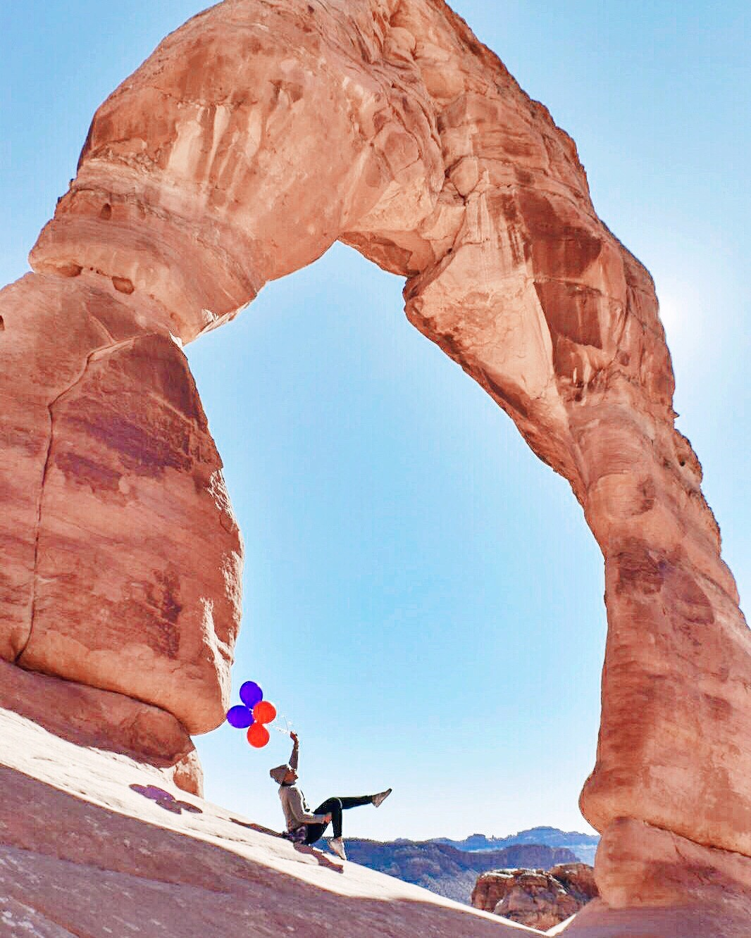 Illustrated by Sade - the delicate arch at arches national park