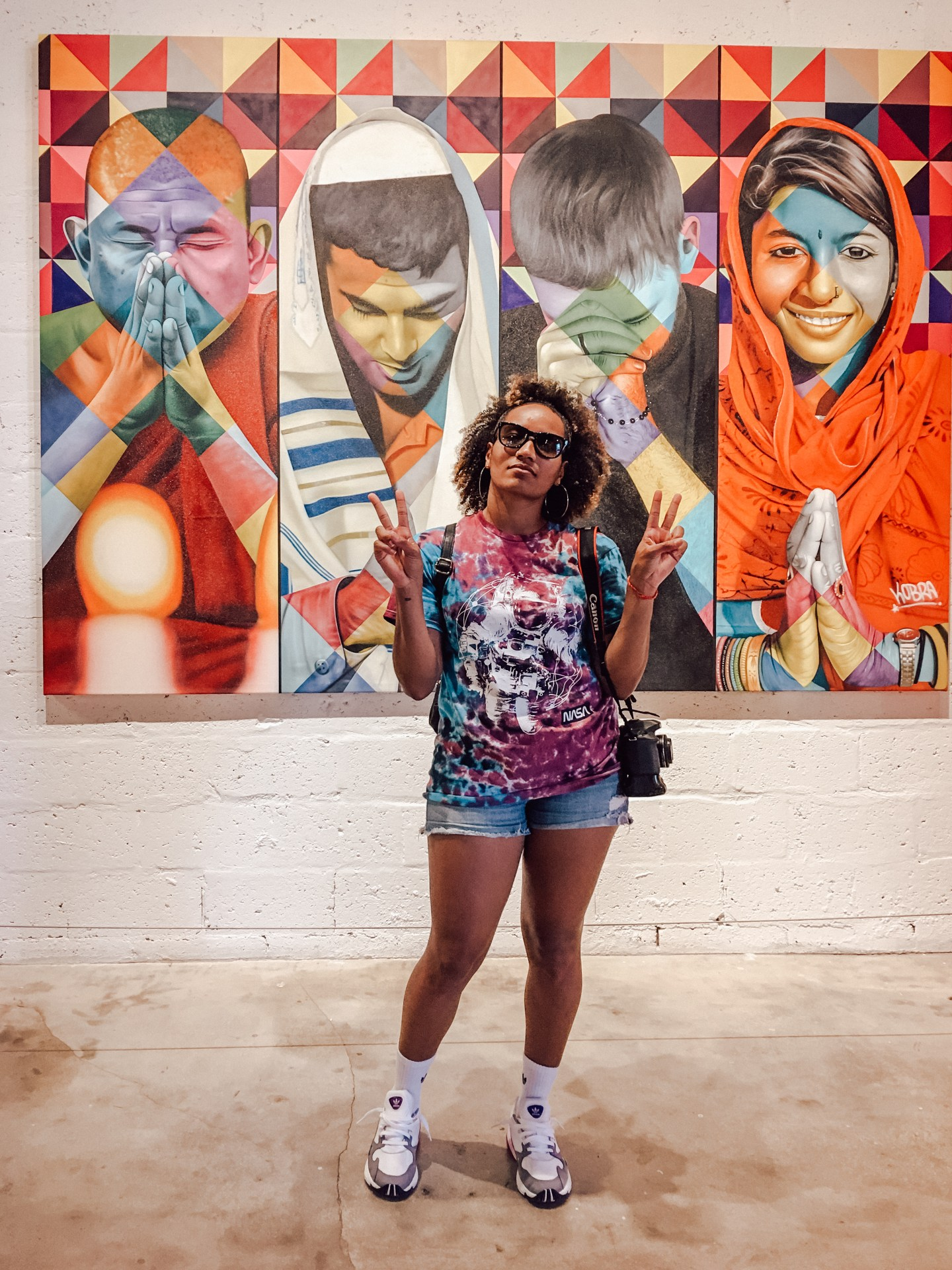 Illustrated by Sade - Wynwood Walls Art Gallery