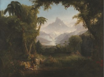 The Garden of Eden, by Thomas Cole, c. 1828. Amon Carter Museum of American Art, Fort Worth, Texas, United States.