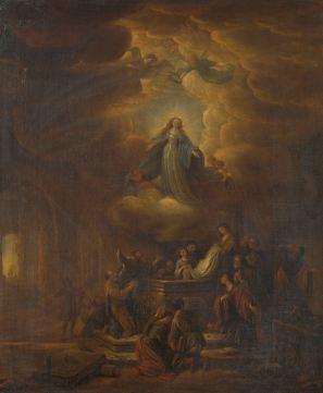Assumption of the Virgin, by Jacob de Wet (I), c. 1640-72. Rijks Museum, Amsterdam, Netherlands.