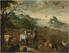 God Creating the Animals of the World, by Isaak van Oosten, c. 17th century. Private collection.