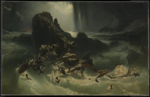 The Deluge, by Francis Danby, c. 1840. Tate Museum, London, United Kingdom.