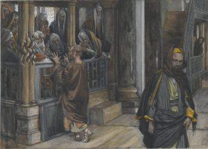 Judas Goes to Find the Jews, by James Tissot, c. 1886-94. Brooklyn Museum, New York, New York, United States. Via IllustratedPrayer.com