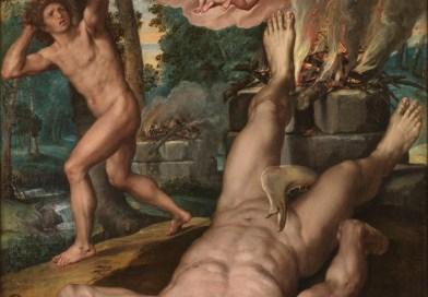 The Death of Abel, by Michiel Coxcie, c. 1539-1559. Museo del Prado. Via IllustratedPrayer.com