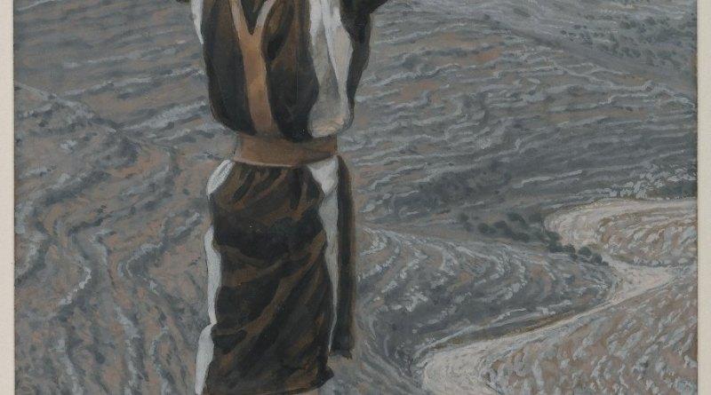 The Voice in the Desert, by James Tissot, c. 1886-94. Brooklyn Museum, New York, New York, United States. Via IllustratedPrayer.com