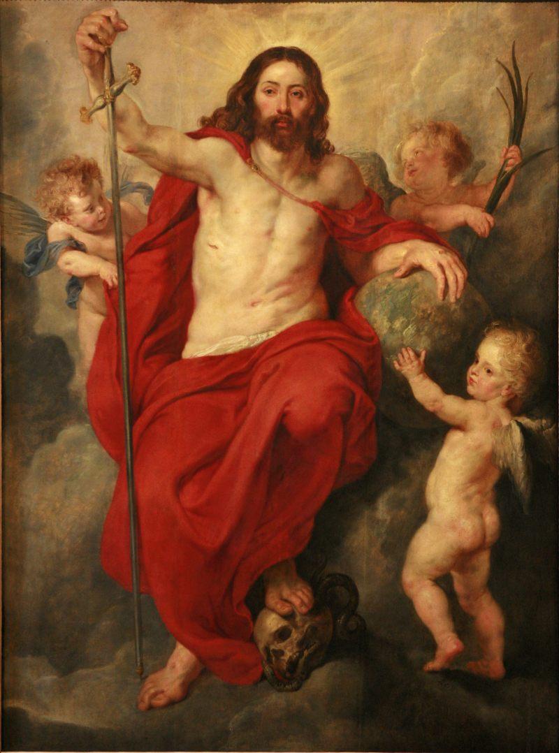 Christ Triumphing Over Death and Sin, by Peter Paul Rubens, c. 1615-16. Musées de la Ville de Strasbourg, Strasbourg, France. Via IllustratedPrayer.com