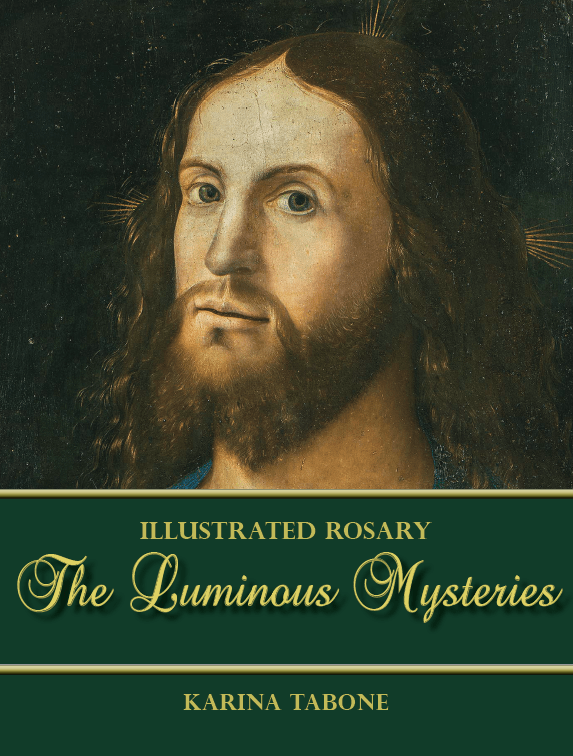 Rejected Cover Art for Luminous Mysteries. Via IllustratedPrayer.com