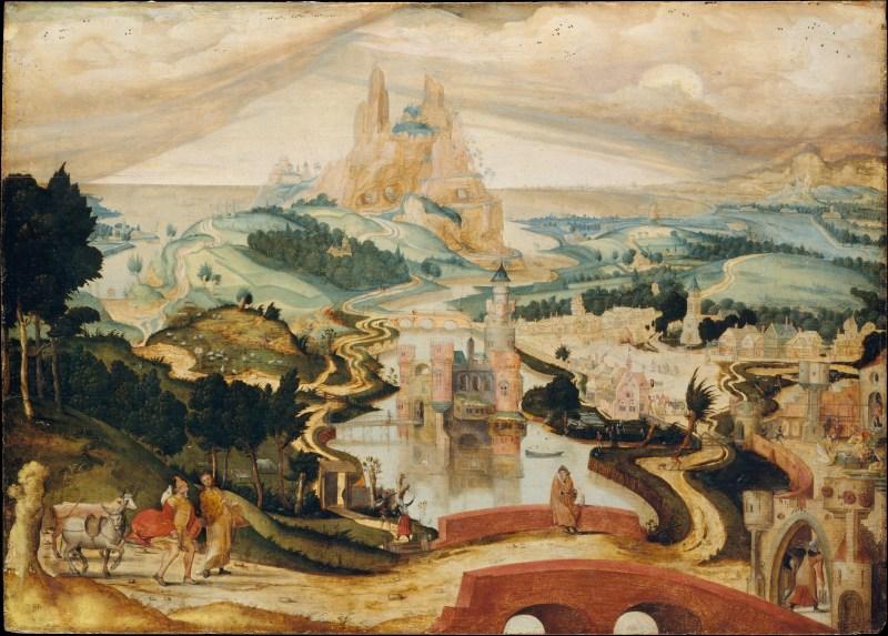 The Arrival of Bethlehem, by Master LC, c. 1540. Metropolitan Museum of Art, New York, New York, United States. Via IllustratedPrayer.com