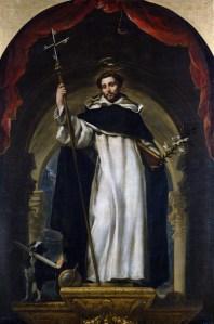 St. Dominic of Guzmán, Claudio Coello, c. 1685. Museo del Prado, Madrid, Spain. Via IllustratedPrayer.com