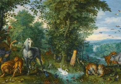 The Garden of Eden with the Fall of Man, by Jan Brueghel the Elder