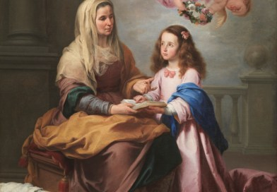 Saint Anne Teaching the Virgin to Read, by Murillo