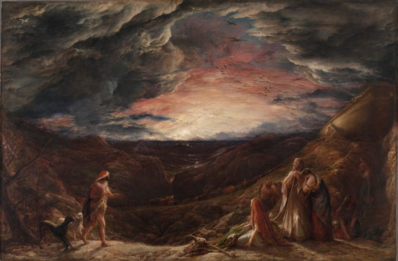 Noah: The Eve of the Deluge, by John Linnell, c. 19th century. Cleveland Art Museum, Cleveland, Ohio, United States.