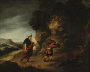 Abraham and Isaac, by Gainsborough Dupont, c. 1787. Museum of the Shenandoah Valley, Winchester, Virginia, United States.