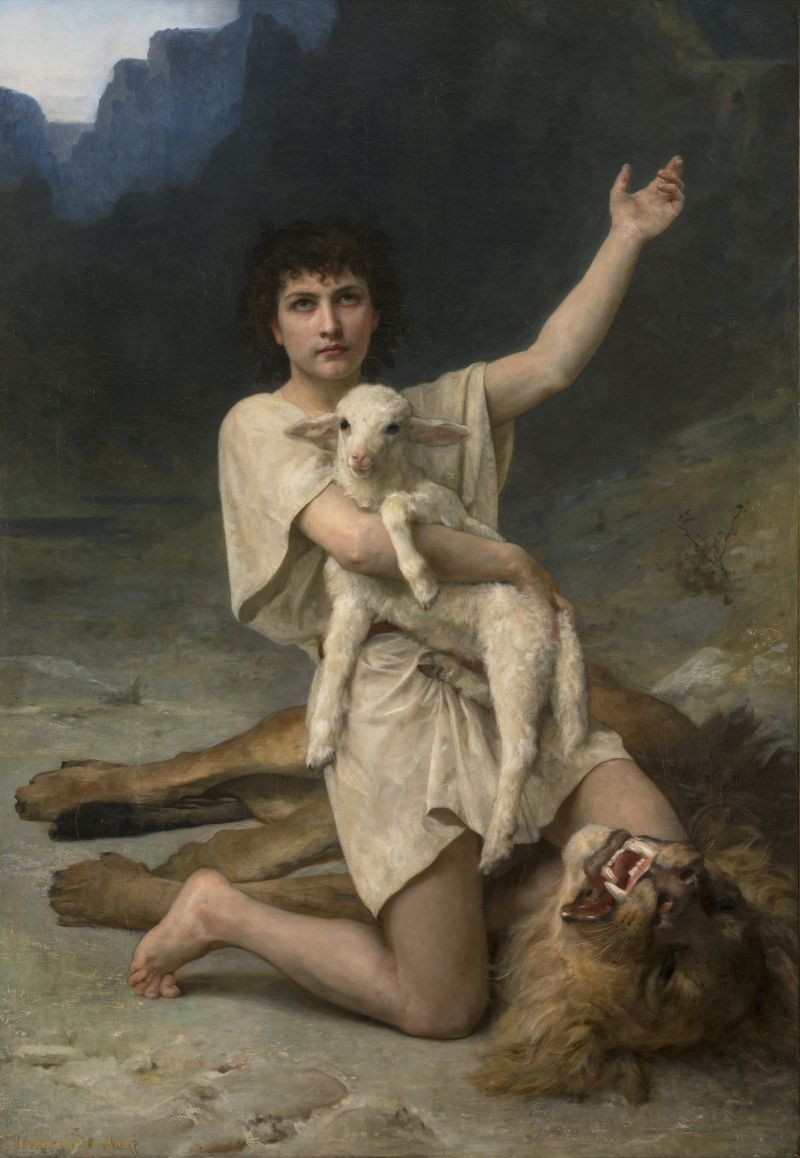 The Shepherd David, by Elizabeth Jane Gardner, c. 1895. National Museum of Women in the Arts, Washington, D.C., United States.