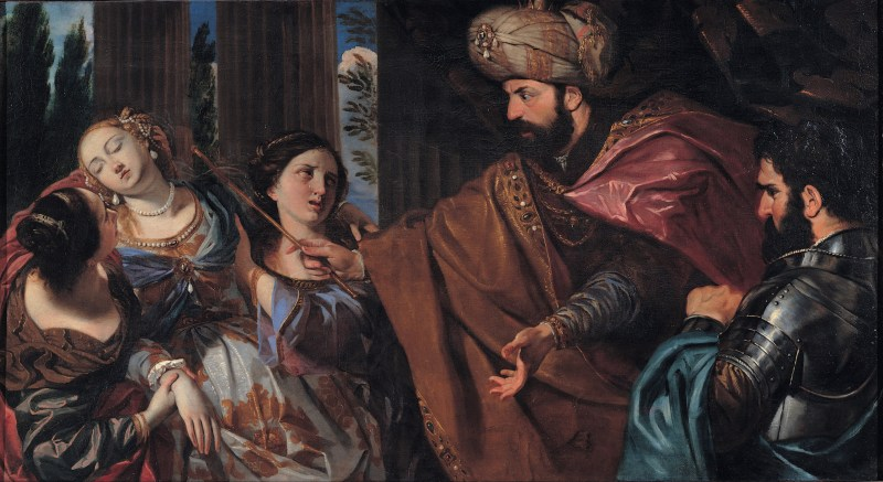 Esther Before Ahasuerus, by Giovanni Bonati, c. 1650-75. Musei Capitolini, Rome, Italy.