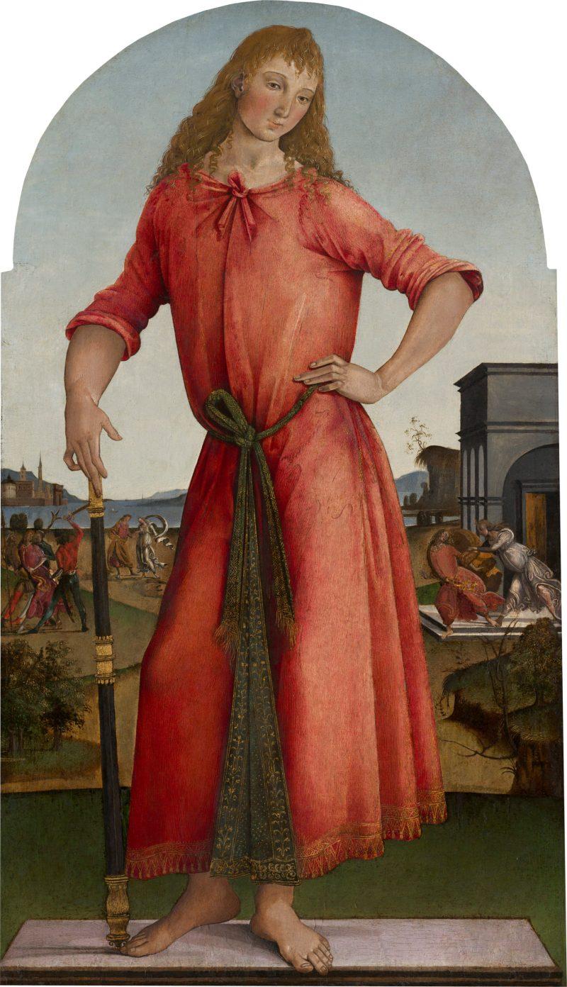 Joseph of Egypt, by Master of the Griselda Legend, c. 1490-95. National Gallery of Art, Washington, D.C., United States.