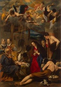 Adoration of the Shepherds, by Juan Bautista Maino, c. 17th century. State Hermitage Museum, St. Petersburg, Russia.