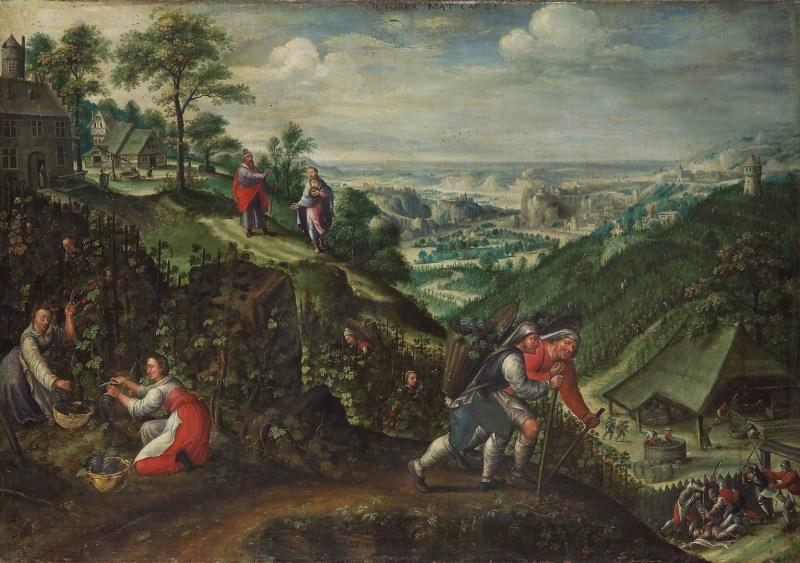 Parable of the Wicked Husbandmen, by Marten van Valckenborch, c. 1580-90. Kunsthistorisches Museum, Vienna, Austria.