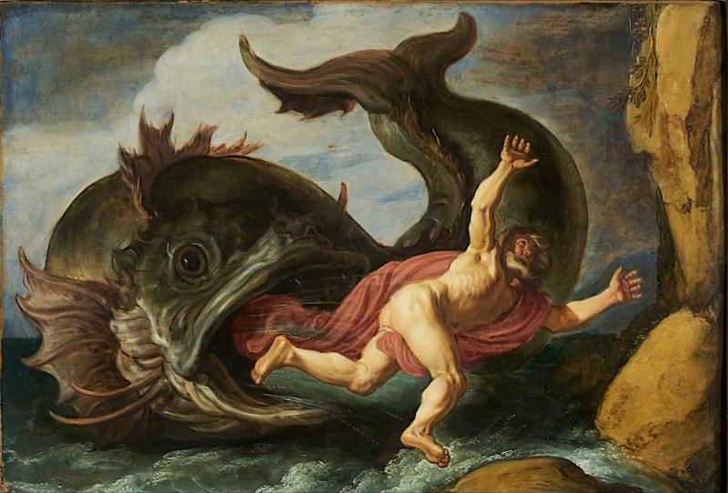 Jonah and the Whale, by Pieter Lastman, c. 1621. Museum Kunstpalast, Düsseldorf, Germany.